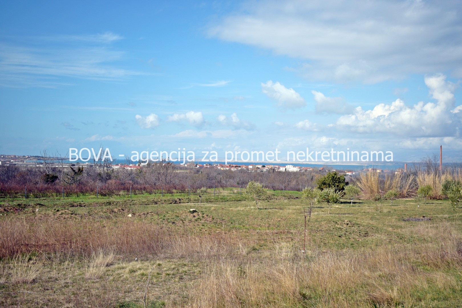 Poljoprivredno zemljište 9239 m2 u Ninu, Zadar *POGLED MORE*  (ID-1778)