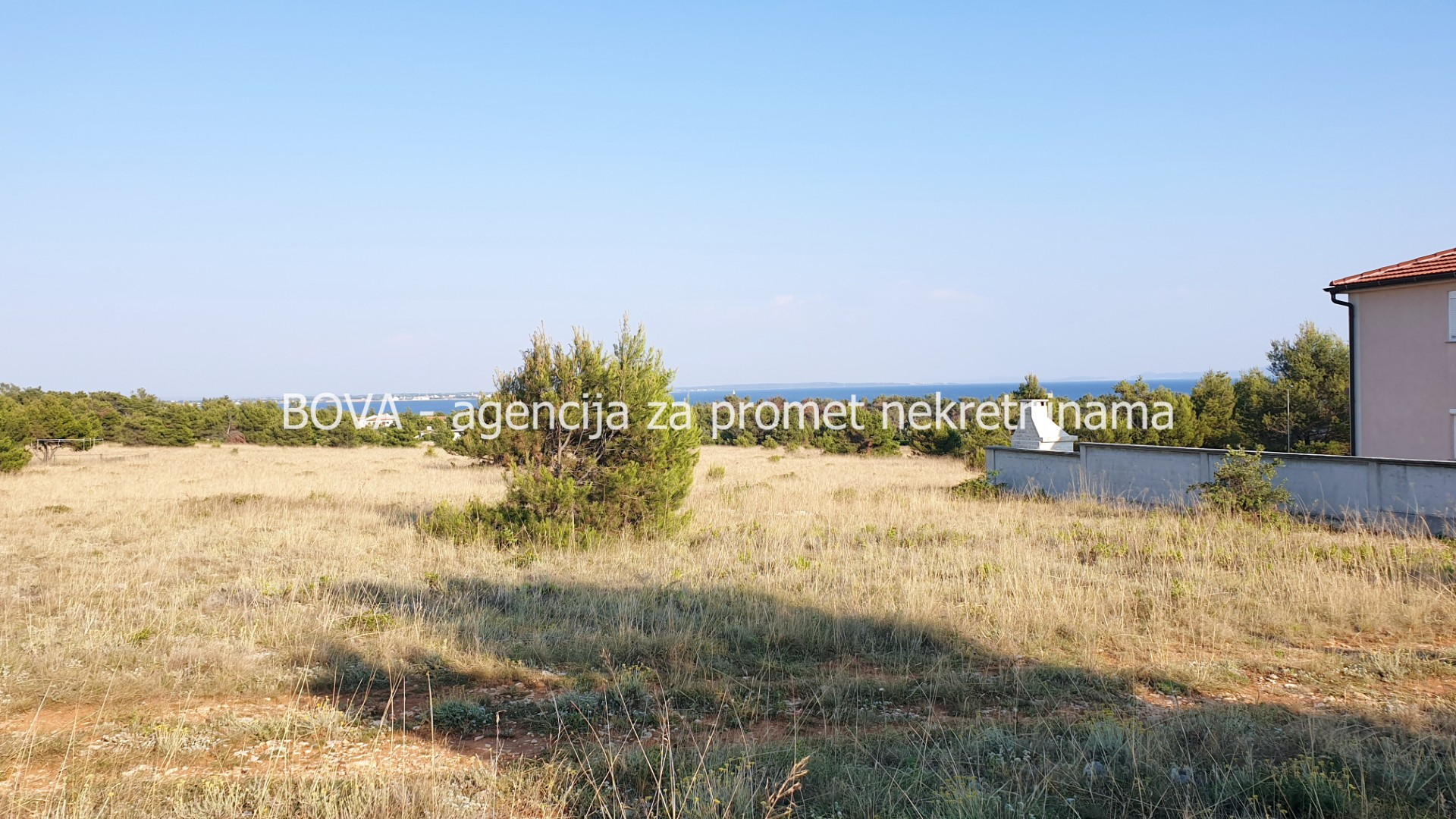 Poljoprivredno zemljište 1000 m2 na Viru, Zadar *550 m OD PLAŽE* *POGLED MORE*
