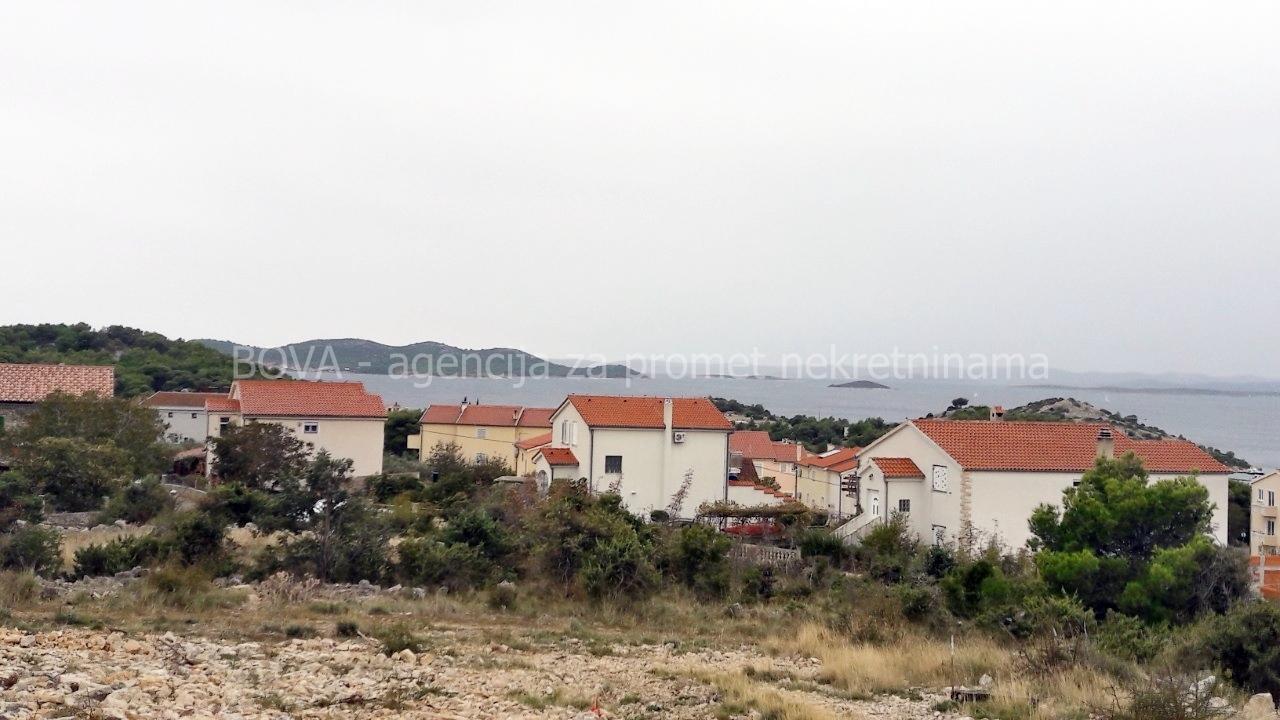Građevinsko zemljište 1257 m2 u Dragama, Zadar *POGLED MORE* *500 m OD MORA*