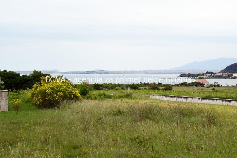 Građevinsko zemljište 1050 m2 u Ljubču, Zadar *400 m OD PLAŽE* *POGLED MORE*