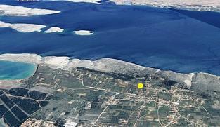 Poljoprivredno zemljište 828 m2 u Vrsima, Zadar *900 m OD MORA*