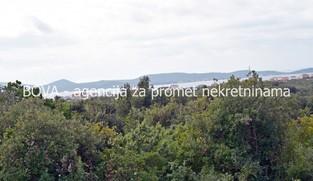 Građevinsko zemljište 1900 m2 u Sukošanu, Zadar *POGLED MORE*