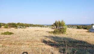 Poljoprivredno zemljište 1000 m2 na Viru, Zadar *550 m OD PLAŽE* *POGLED MORE*  (ID-1876)