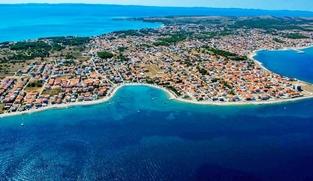 Poljoprivredno zemljište 1000 m2 na Viru, Zadar *PRVI RED DO MORA* *PRILIKA*