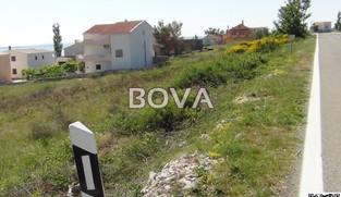 Građevinsko zemljište 359 m2 u Rtini, Zadar *300 m OD MORA* *POGLED MORE* *SA GRAĐEVINSKOM DOZVOLOM*  (ID-1915)