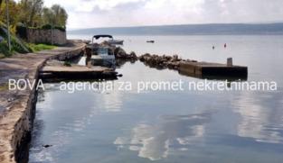 Građevinsko zemljište 739 m2 u Maslenici, Zadar *PRVI RED DO MORA*
