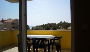Apartman 58,05 m2 u Zatonu, Zadar *100 m OD PLAŽE* *POGLED MORE*