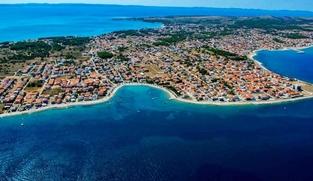 Poljoprivredno zemljište 6265 m2 na Viru, Zadar *POGLED MORE* *500 m OD MORA* *PRILIKA*
