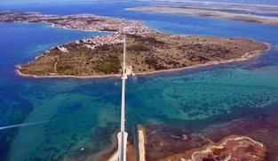 Poljoprivredno zemljište 800 m2 na Viru, Zadar *POGLED MORE* *SNIŽENO*